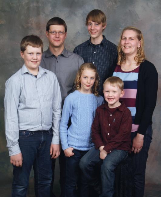 VAN DONGEN, Ben & Brenda Brenden, Braeden, Beth, Brian